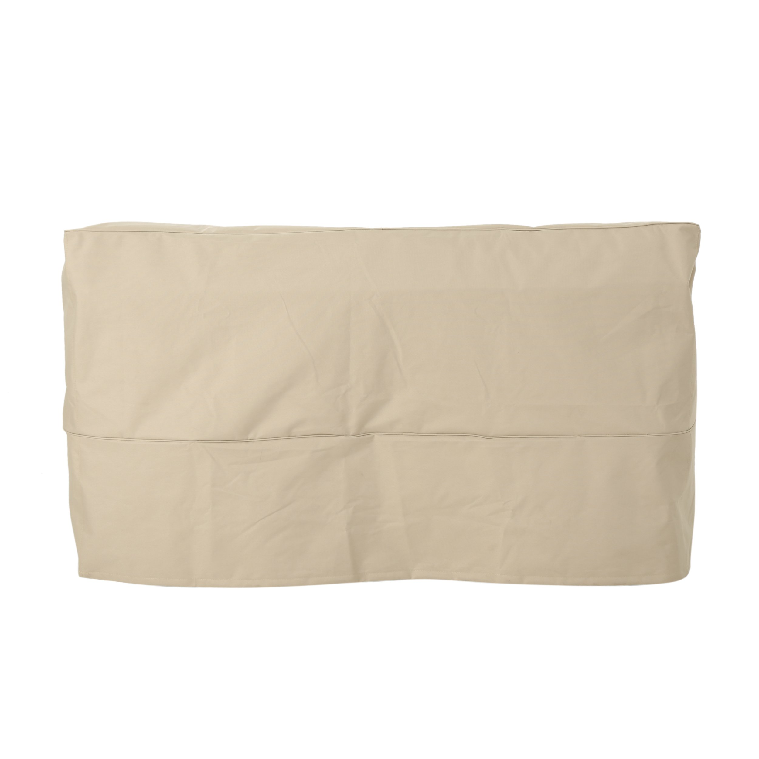 Charlene Outdoor 60'' by 35'' Waterproof Loveseat Cover, Beige by Great Deal Furniture (Image #2)
