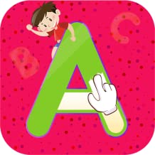 Alphabet Learning - Tracing & Coloring