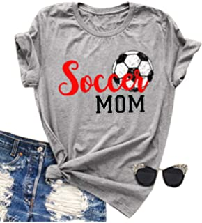 Awkward Styles Womens Soccer MOM Motherhood Graphic Hoodie Tops White Sport Mom Gift Idea