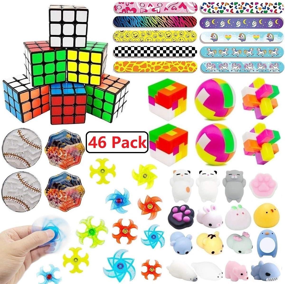 Amazon.com: Paquete de 46 regalos de fiesta para juguetes ...