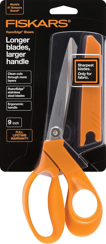 Fiskars Crafts 8190 RazorEdge Fabric Shears, 9-Inch