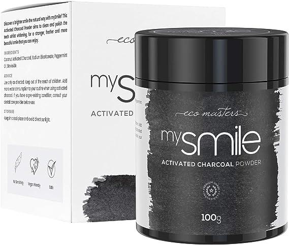 Blanqueador Dental Carbón Activado 100gr mysmile - Rico ...