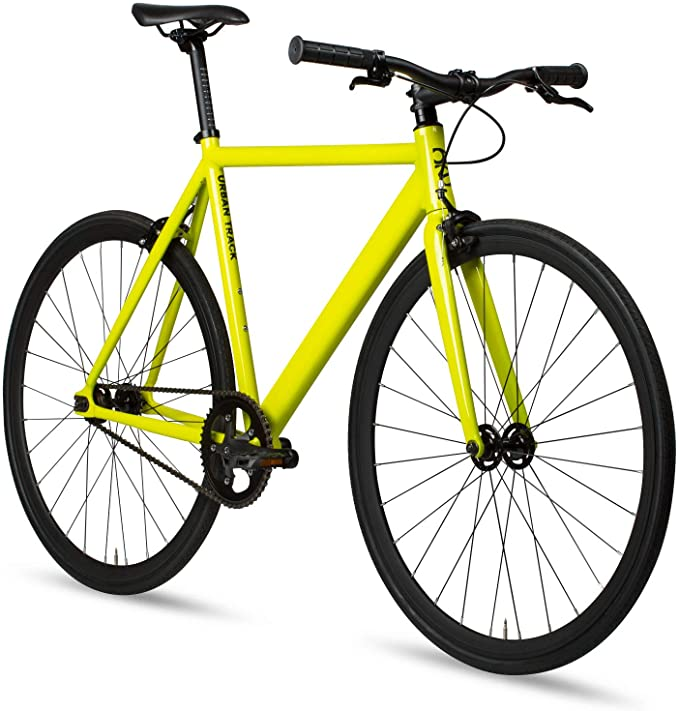 Best bike for college student: 6KU Aluminum Fixed Gear Bike