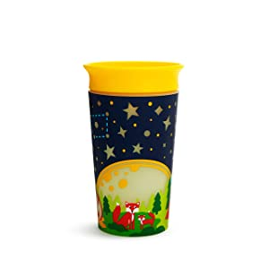 Munchkin 19-9 Oz Miracle 360° Glow in The Dark Sippy Cup