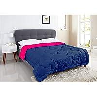 I Wish Microfibre Reversible 250 GSM Winter Comforter/Blanket/Quilt/Lightweight Duvet