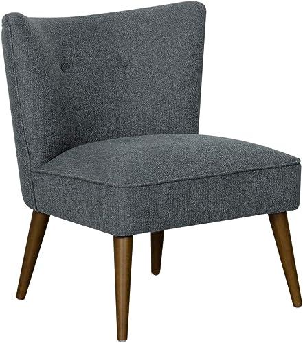 Spatial Order Kaufmann Mid Century Modern Armless Accent Chair