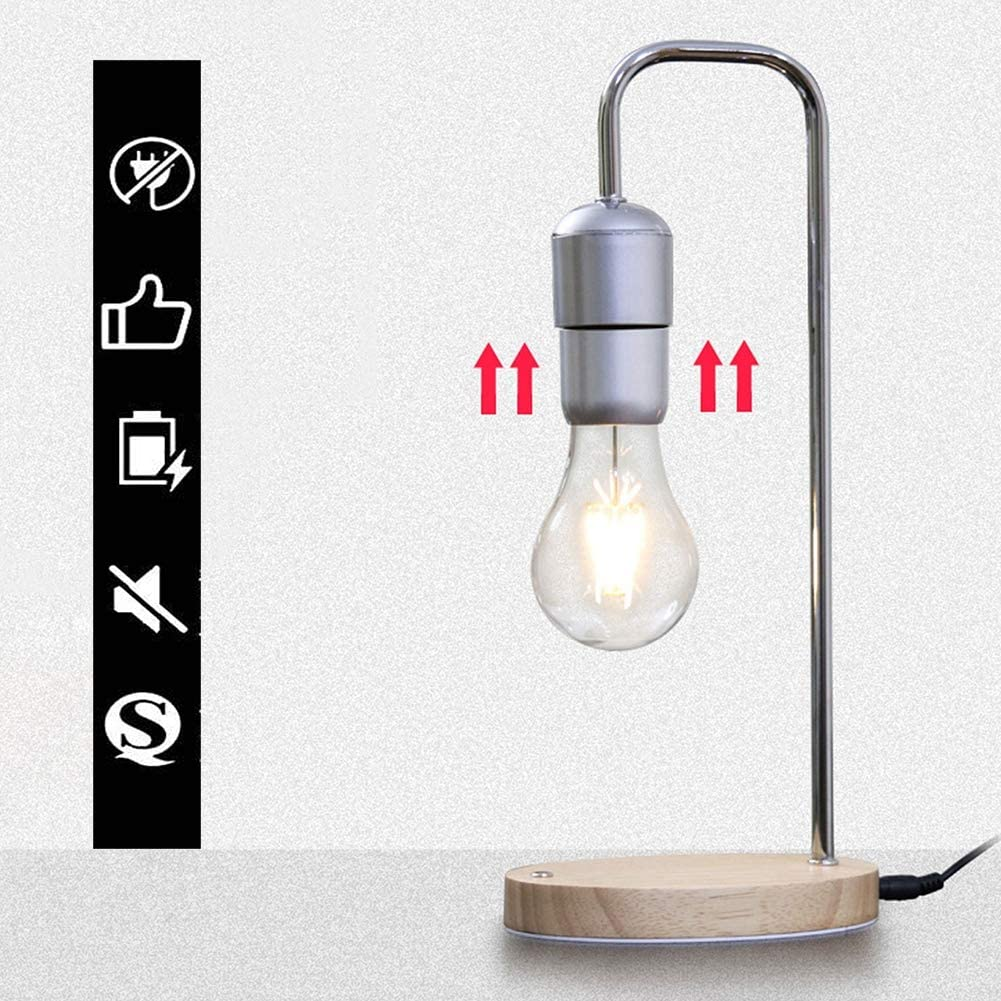 BAIVIN Suspension Magn/étique Ampoule Creative Lampe De Table Tactile Lumineux Veilleuse De D/écoration Ornements Accueil Accessoires Cadeaux De Mariage