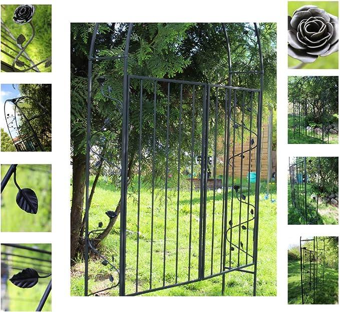 EQT-TEC - Arco para Rosales con Adornos, 220 cm, para jardín: Amazon.es: Jardín