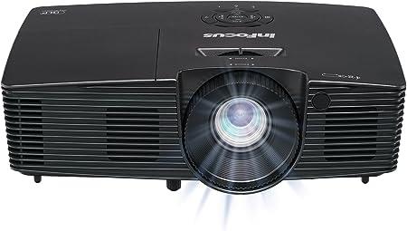 Infocus In112xv Svga 4 3 3d Dlp Projektor Beamer Hdmi 3500 Ansi Lumen 16000 1 Kontrast 15000 Stunden Lampen Brilliantcolor Heimkino Tv Video