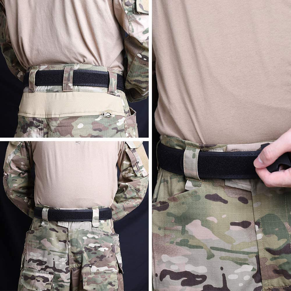KRYDEX Loop Liner Inner Belt 1.5 in Tactical Waist Inner Belt Duty Belt Nylon