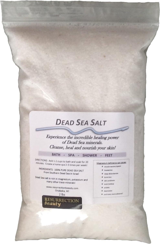 100% Pure Dead Sea Salt 2lb