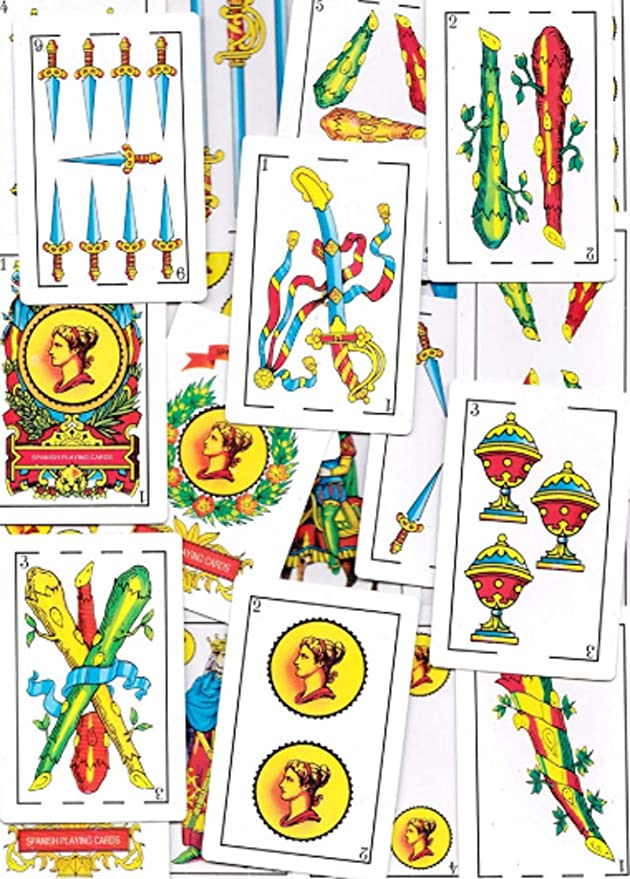 Amazon.com: 1 Puerto Rico Spanish Playing Cards 50 Baraja ...