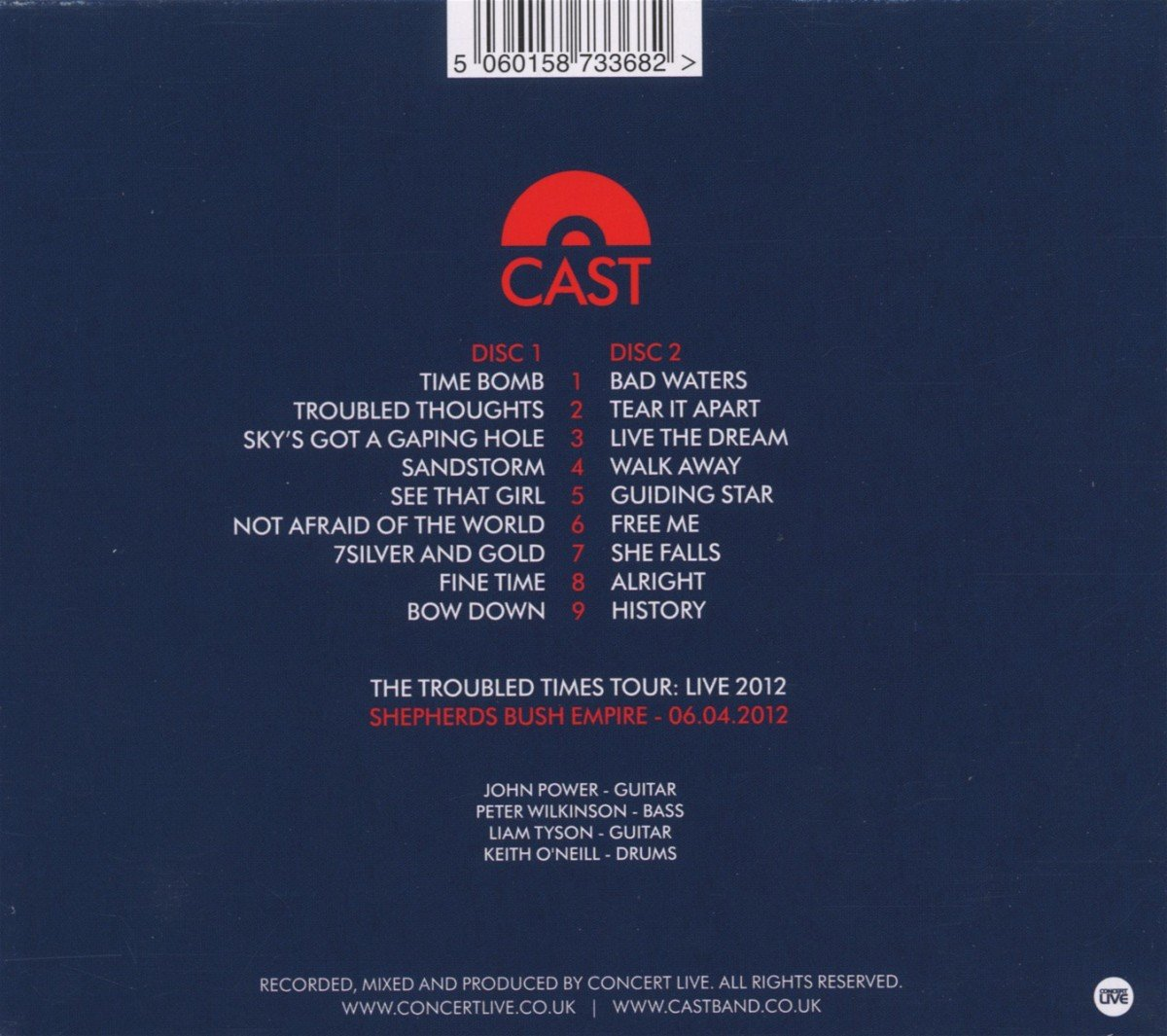 Troubled Times Tour: Live 2012 by 101 DISTRIBUTION