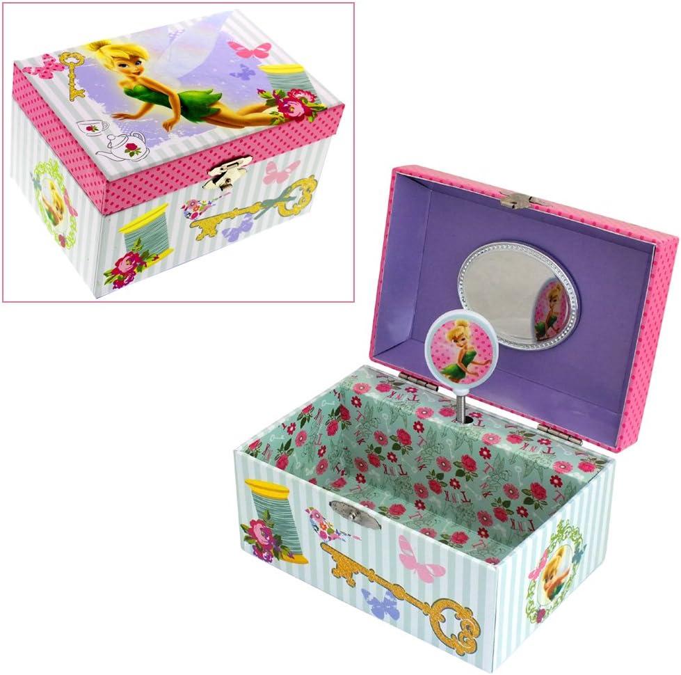 Infantil Disney Fairies – Joyero musical para & Caja Joyero con ...