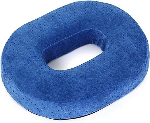 Donut Ring Cushion Pressure Relief Pillow Green Memory Foam Ring Cushion