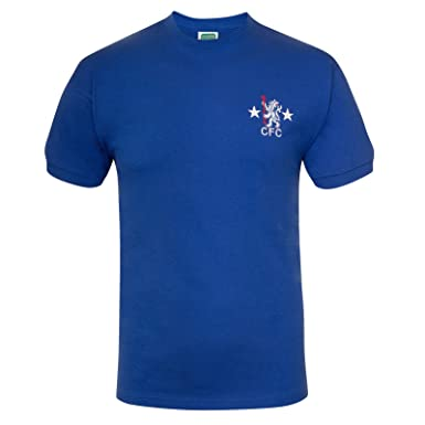 Chelsea FC Official Soccer Gift Mens 1972 Retro Home Kit No.9 Shirt Small 9c4f6d31d