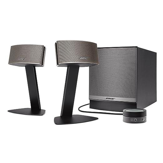21 opinioni per Bose Companion 50 Sistema di altoparlanti multimediali, Nero [Regno Unito]