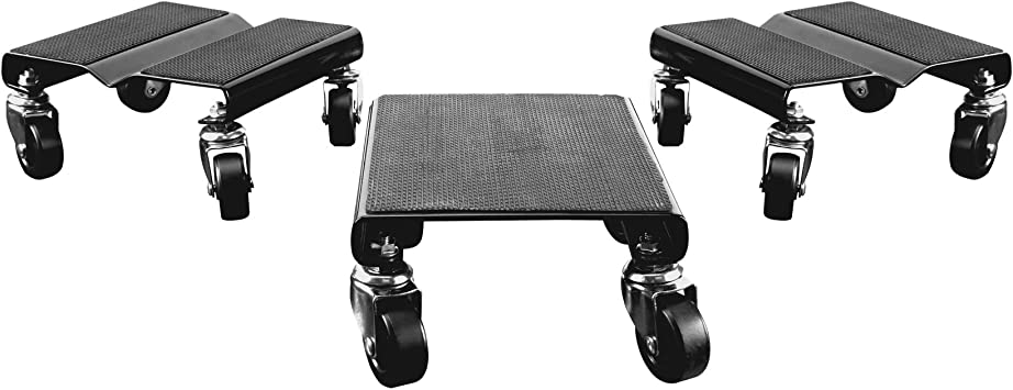 3ct Details about  /Durable Anti-Slip Snowmobile /& Sled Moving Dolly Set w// 1500lb Capacity