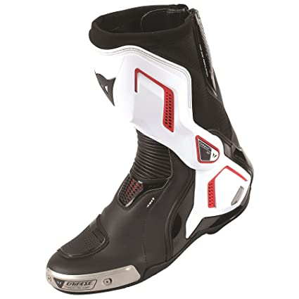 7ccc4c76b Image Unavailable. Image not available for. Color  Dainese Torque D1 Out Air  Boots Black White Lava Red EU 41 US 8.5