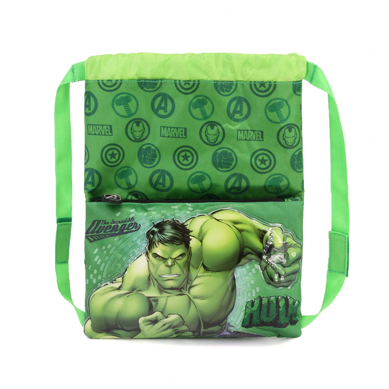 Green Karactermania Hulk Rage-Strap Turnbeutel Bolsa de Cuerdas para el Gimnasio 41 Centimeters Verde
