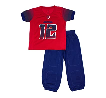 FAST ASLEEP NCAA Arizona Wildcats Boys Toddler Junior Football Uniform  Pajamas 028dde8c3