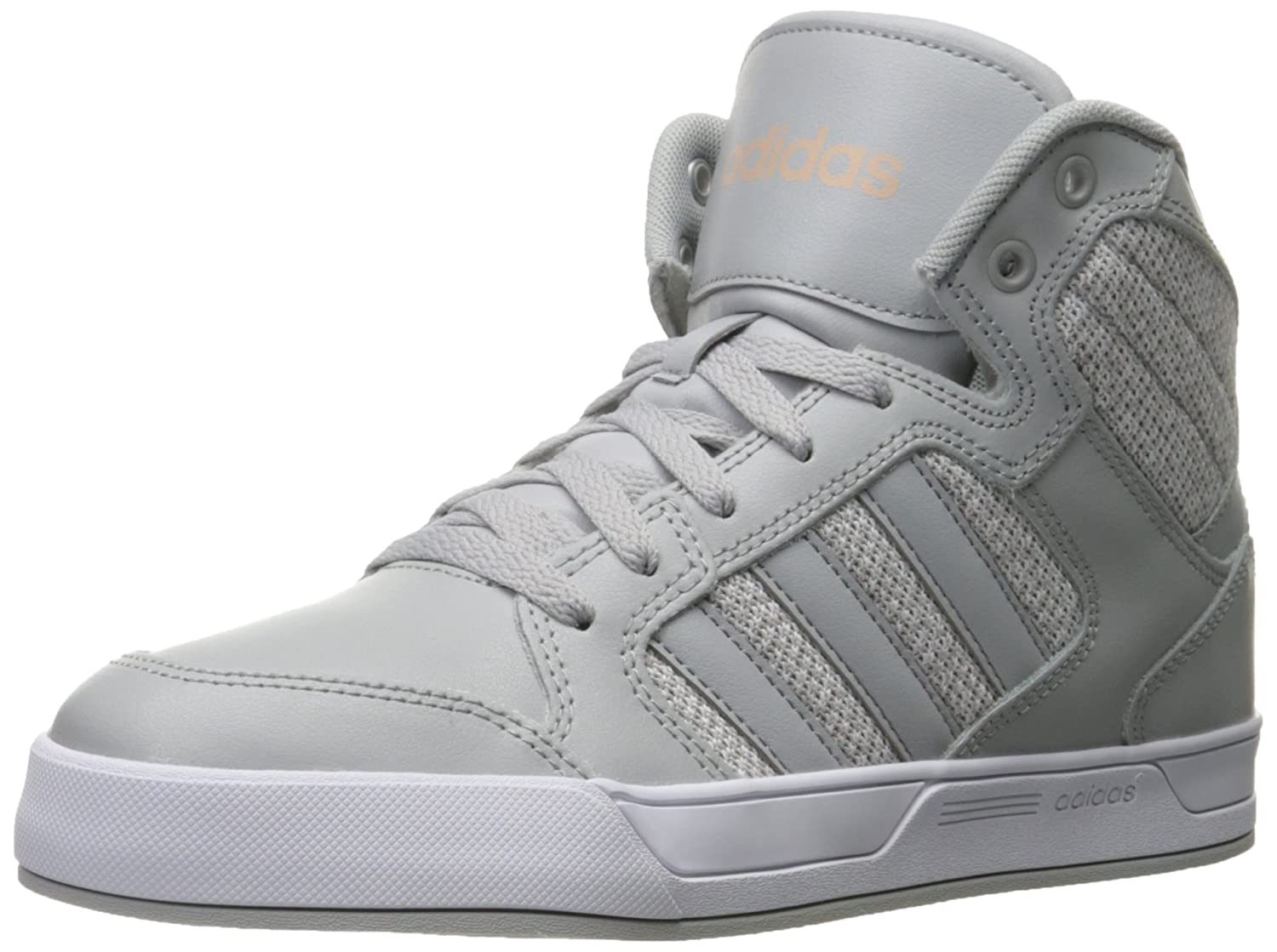 adidas Neo Women's Raleigh Mid W Casual Sneaker B01CT6Y30K 6.5 M US|Clear Onix/White