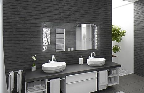 Bagno specchio con illuminazione austin f l v design specchio