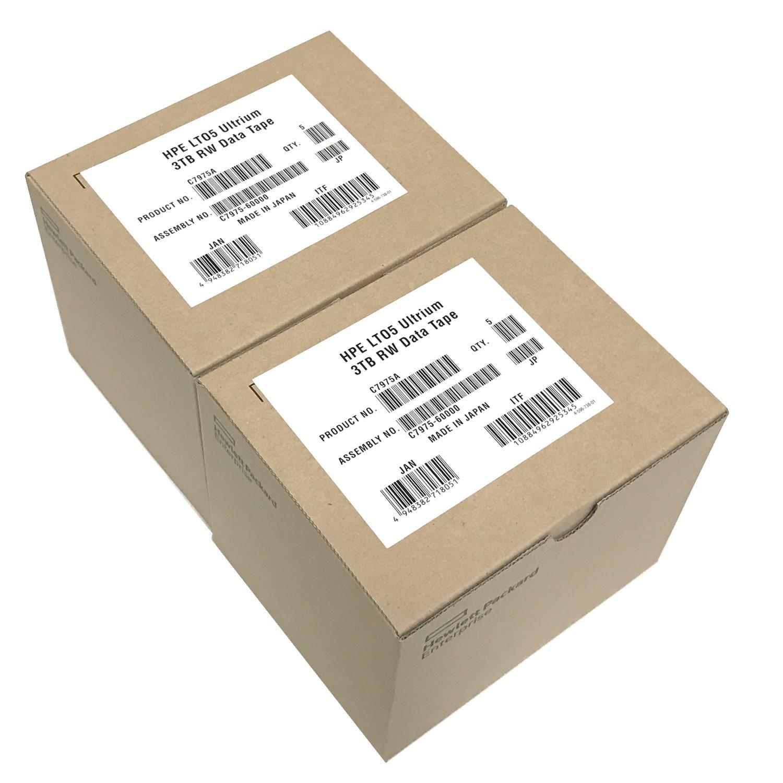 10 Pack HPE LTO-5 C7975A Ultrium-5 Data Tape Cartridge (1.5TB/3TB)