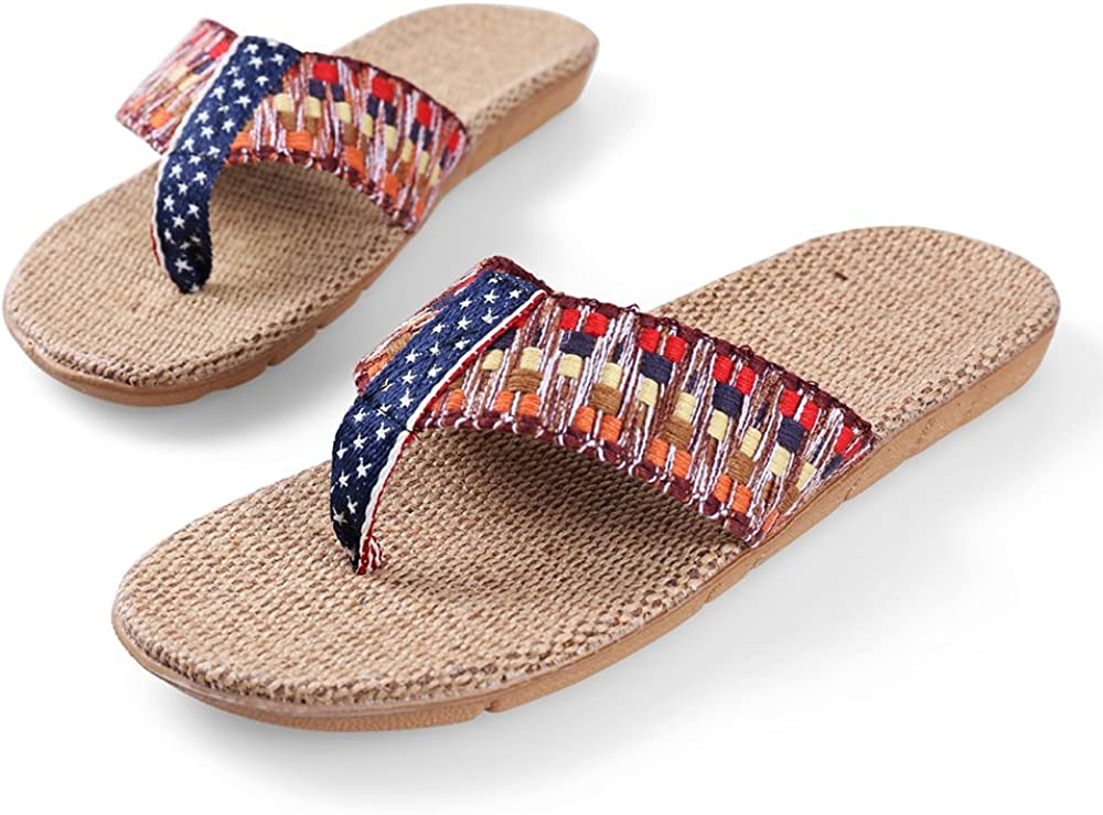 Unisex Summer Beach Slippers Dead Moon Flip-Flop Flat Home Thong Sandal Shoes