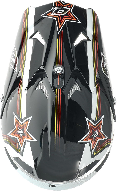 ONEAL 3 Series Star Motocross Enduro MTB Helm schwarz//wei/ß//gelb 2016