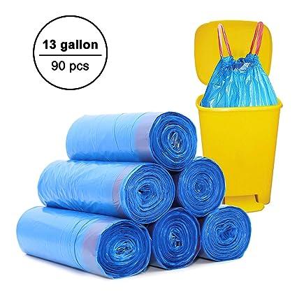 HCLKSTORE 50 litros bolsas de basura, bolsas de basura de 50 ...