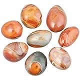 TUMBEELLUWA Palm Stone Healing Crystal Quartz