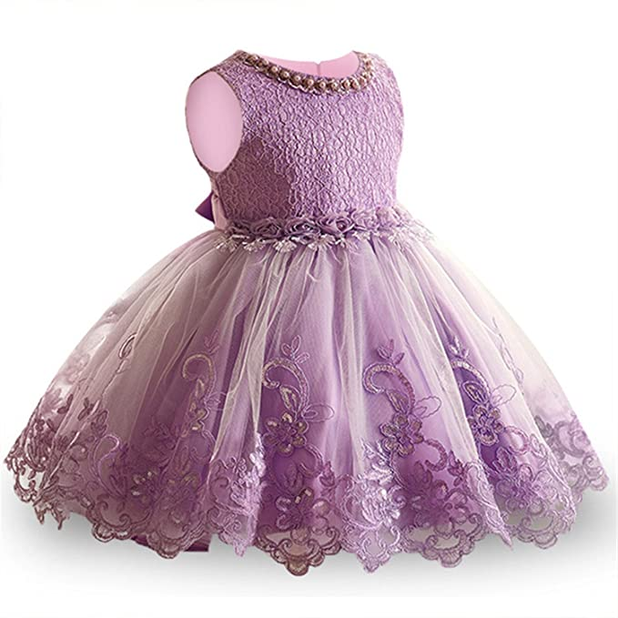 e1d680c10b82c Dorathywatm Girls Dress Children Clothing Princess Summer Party Kids Dresses  for Girls Costume for Kids Wedding Dress 3 4 5 6 7 8 9 10 Years Purple 8   ...