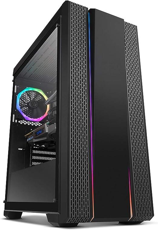 Nox Hummer Fusion - NXHUMMERFSN - Caja PC, ATX, RGB, Color Negro ...