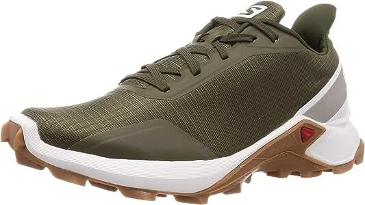 Salomon Alphacross, Zapatillas de Trail Running para Hombre, Verde Grape Leaf White Gum1a, 40 EU: Amazon.es: Zapatos y complementos