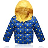 kidslove daunenjacke kinder winterjacke mit kaputze daunenmantel m dchen junge baby verdickte. Black Bedroom Furniture Sets. Home Design Ideas