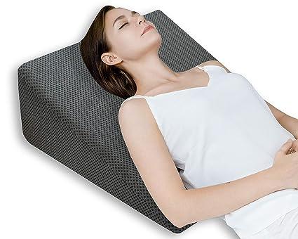 QUEEN ROSE Almohada terapéutica para la cama | Con espuma de ...