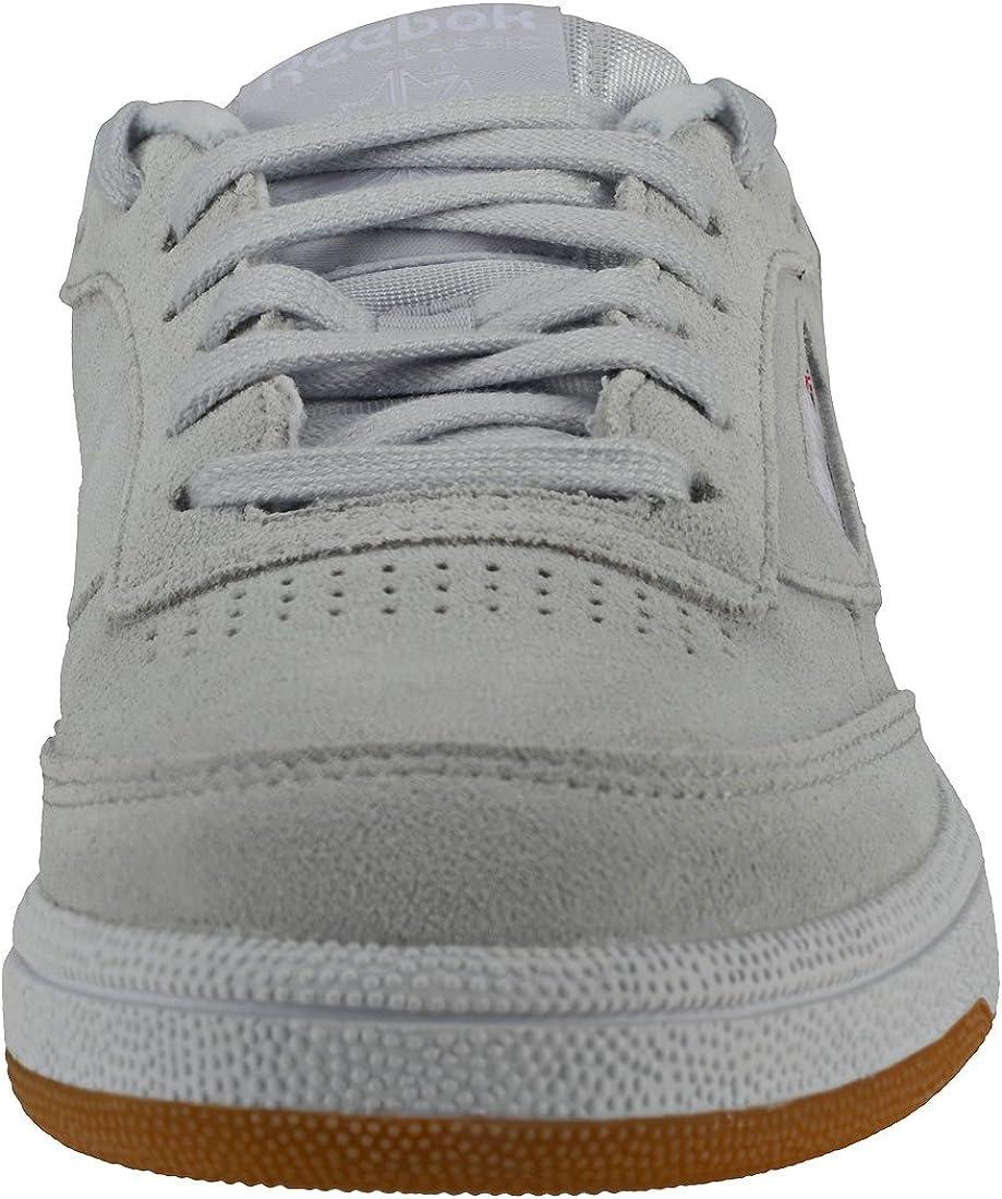 Reebok Club C 85, Chaussures de Fitness Femme Multicolore Premim Basic 3 Spirit White Gum White 000