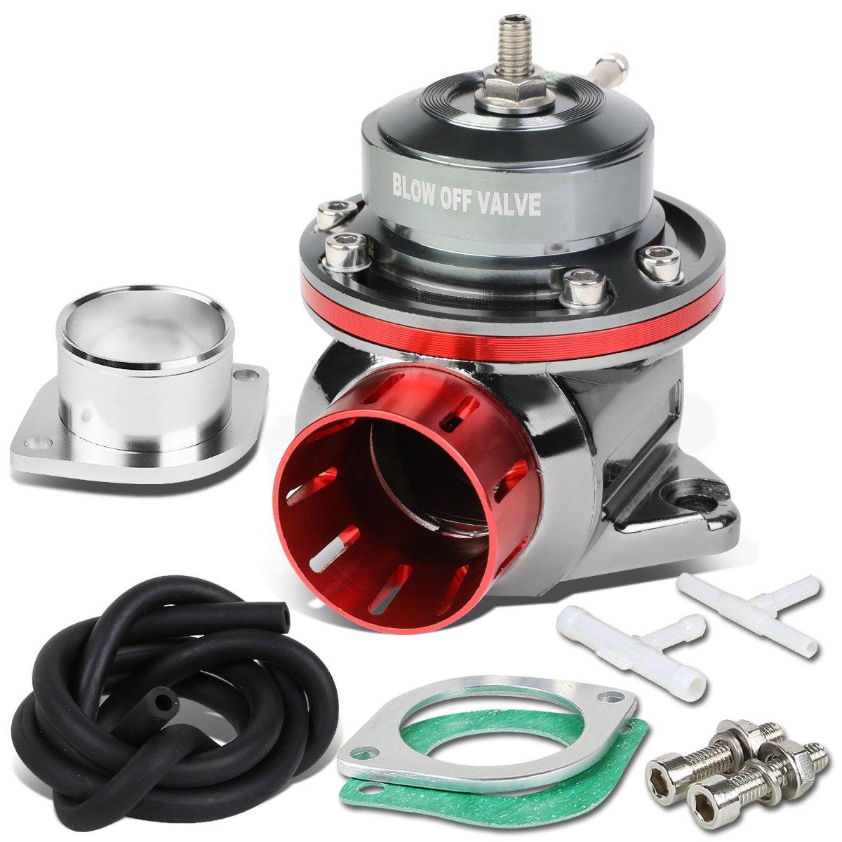 DNA Motoring PT-ZTL-8012-RD Blow-Off valve-BOV Red