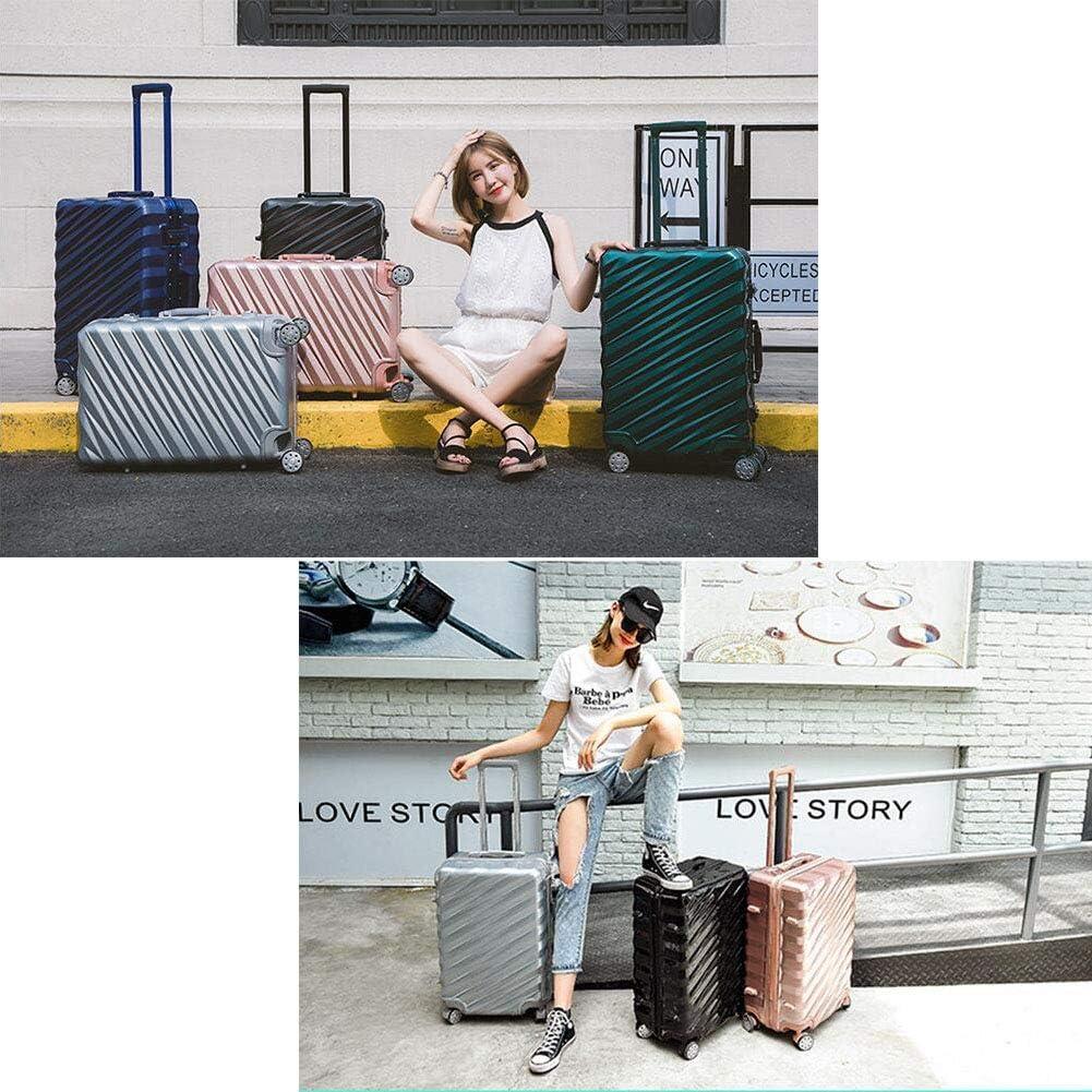 Personality Aluminum Frame Multifunction Suitcase,Red,26 Hongsheng Trolley Case