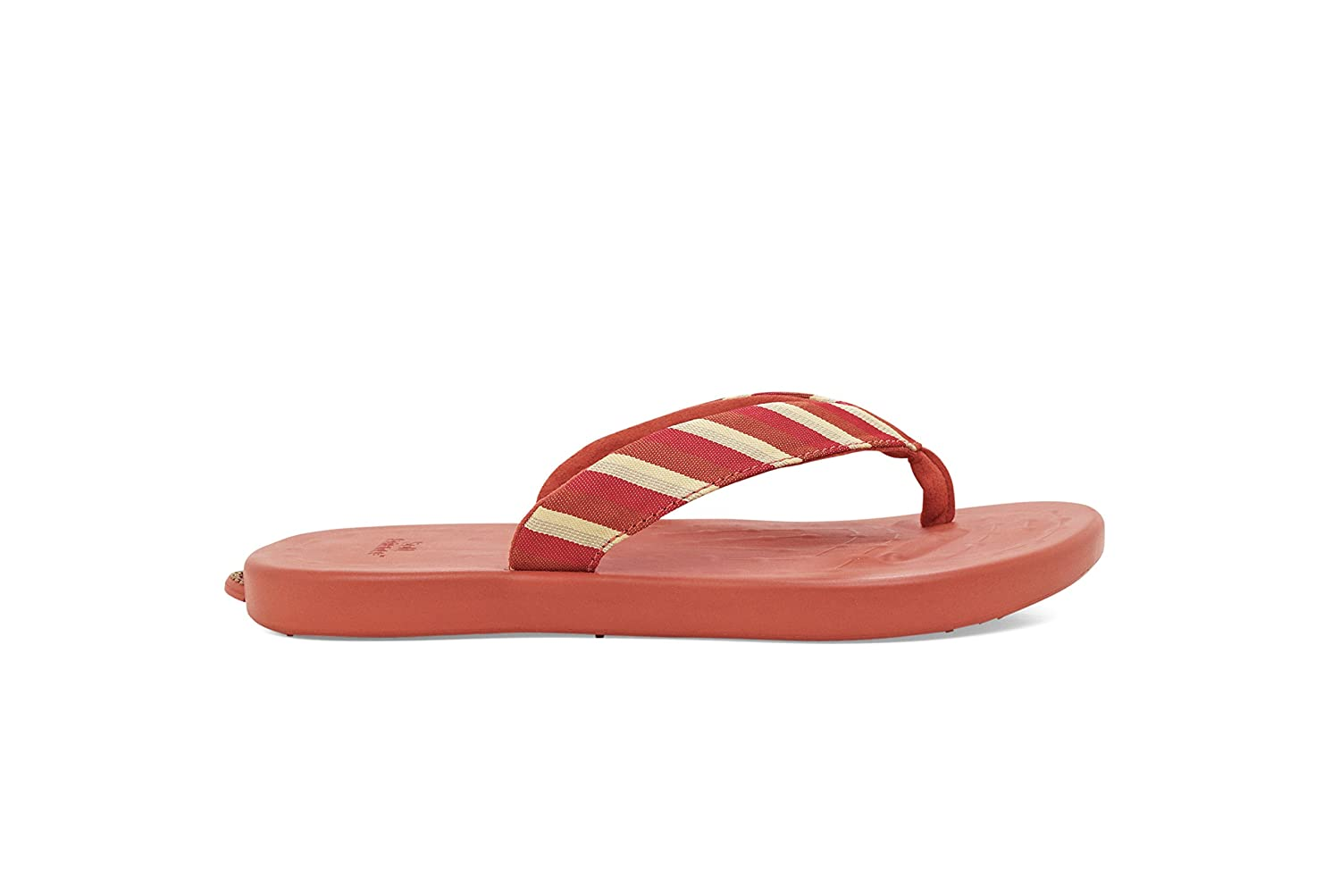 SoftScience The Waterfall Stripe Damen Sandalen Coral Zehentrenner Coral Sandalen 1a30a6