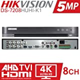 Hikvision H 265+ Turbo HD 8CH DVR 4K HDMI Supports 5MP: Amazon in