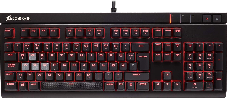 Corsair Strafe Teclado mecánico Gaming (Cherry MX Red: Suave ...