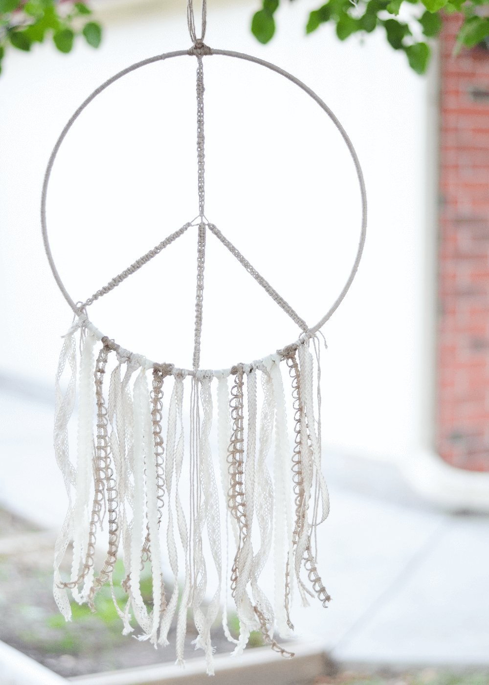 Wreaths Macrame Projects Benvo Metal Craft Hoops Dream Catcher Rings Metal Macrame Rings Steel Hoops for Dreamcatchers 10 Pieces in 10 Different Sizes Silver