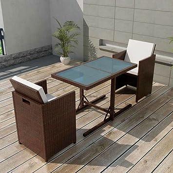 binzhoueushopping Jeu de mobilier de Jardin 7 pcs Haute qualité ...