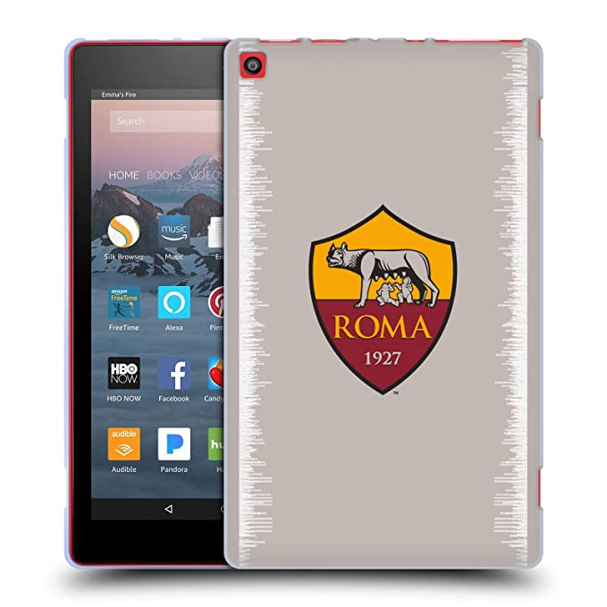 Amazon com: Official AS Roma Home 2018/19 Crest Kit Soft Gel Case