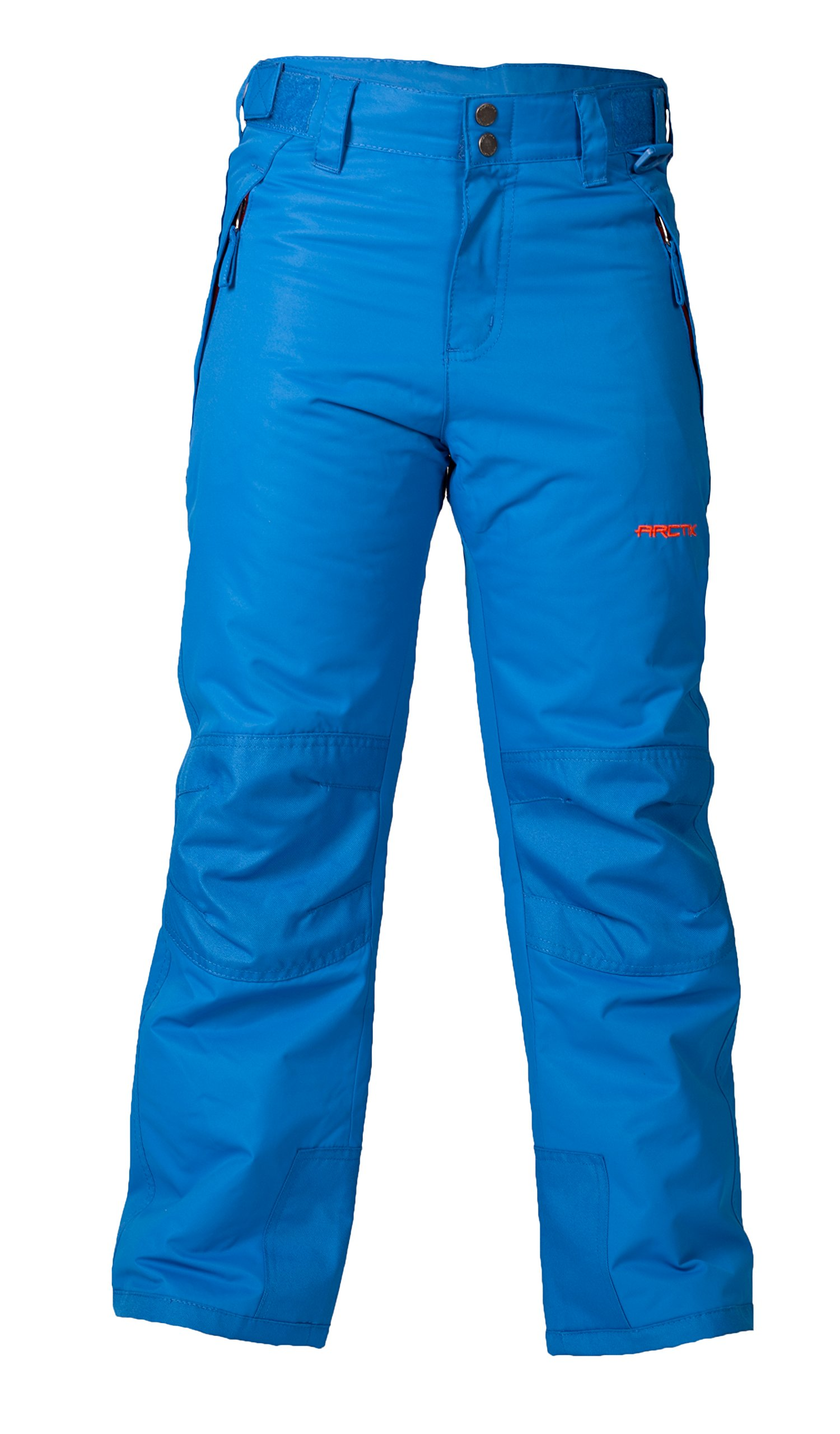 Arctix Youth Snow Pants with Reinforced Knees and Seat, Nautica Blue, X-Small
