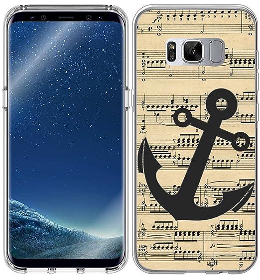 amazon com s8 plus case anchor design iwone compatible case tpu