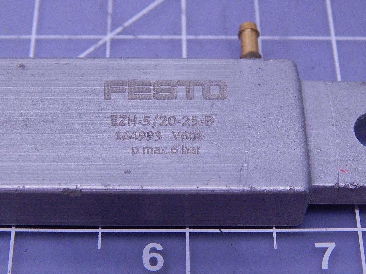 Amazon com: Festo EZH-5/20-25-B Flat Piston Air Cylinder
