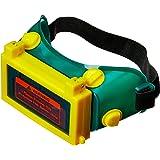Óculos Para Solda Escurecimento Automático Soldador Verde